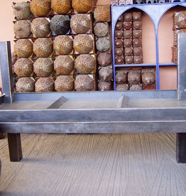 commande table et console metal plier